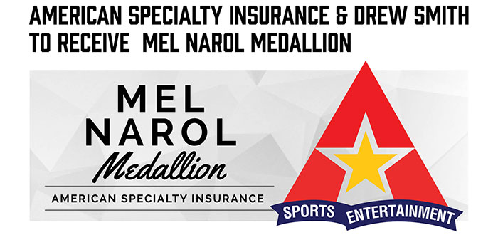 American Specialty Insurance To Receive Mel Narol Medallion