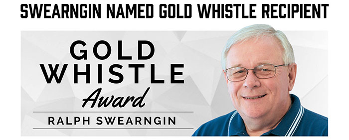 Gold Whistle Award - Ralph Swearngin