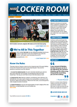 NASO Locker Room newsletter